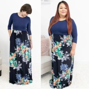 COPY - NWT Floral Maxi w/ Pockets